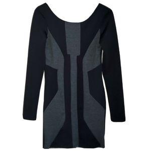 ASOS | Geometric Colour Block Bodycon Mini Dress